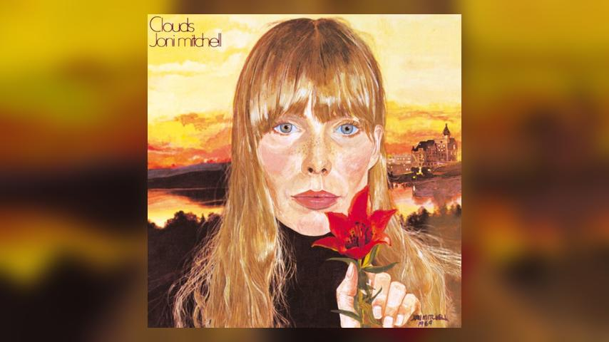 Joni Mitchell CLOUDS Album Cover