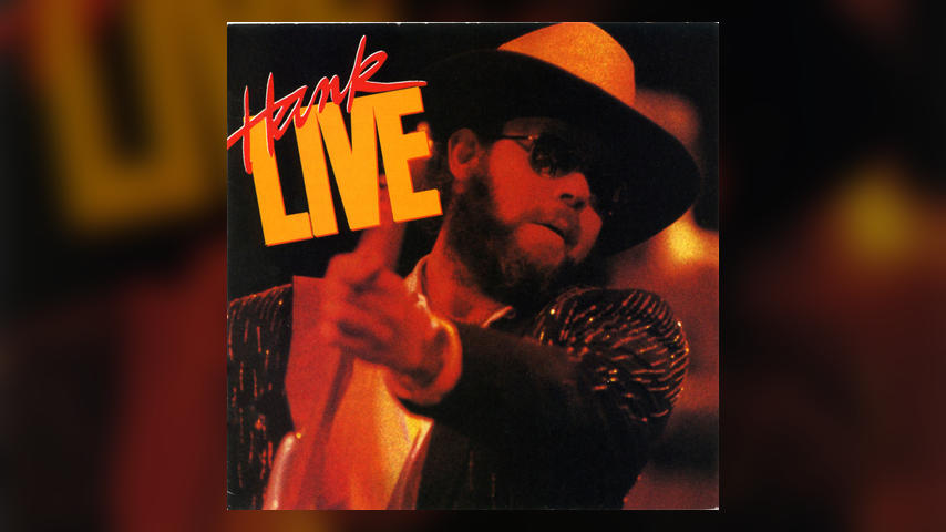 Hank Williams Jr. LIVE Album Cover