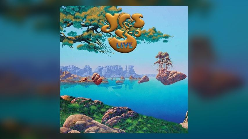 Yes YES:50 LIVE Album Cover