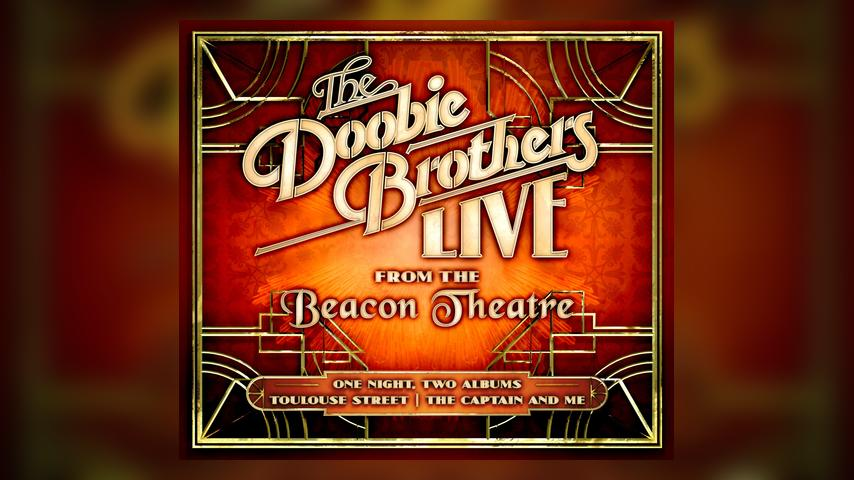 The Doobie Brothers LIVE FROM THE BEACON THEATRE Album Cover