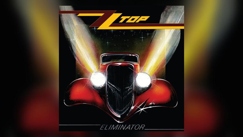 ZZ Top ELIMINATOR Album Cover