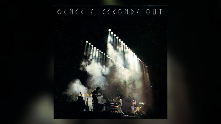 Genesis SECONDS OUT Album Cover