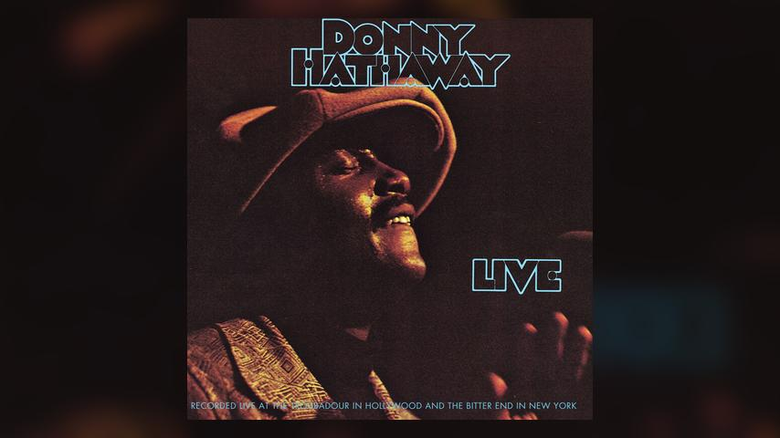 Donny Hathaway LIVE Album Cover