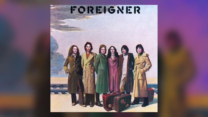 Foreigner FOREIGNER Album Cover