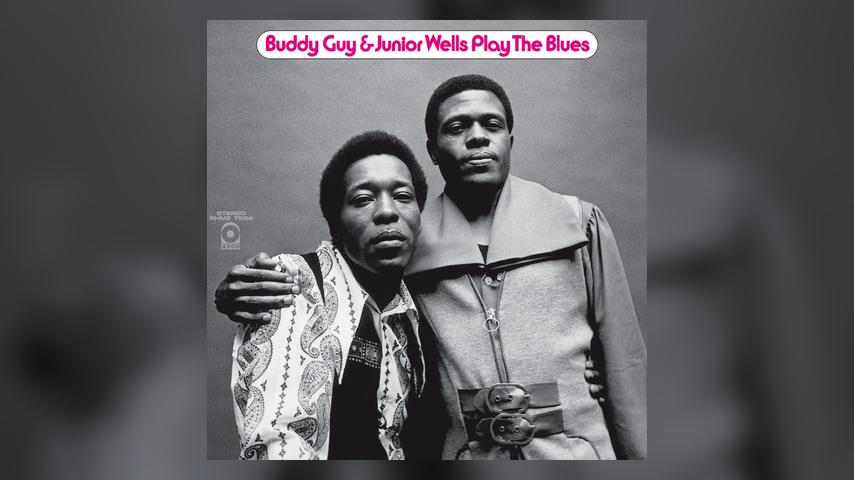 Buddy Guy & Junior Wells PLAY THE BLUES Expanded Album Cover