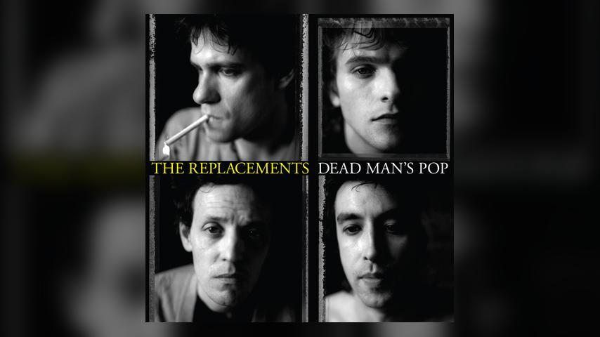 The Replacements DEAD MEN'S POP Album Cover