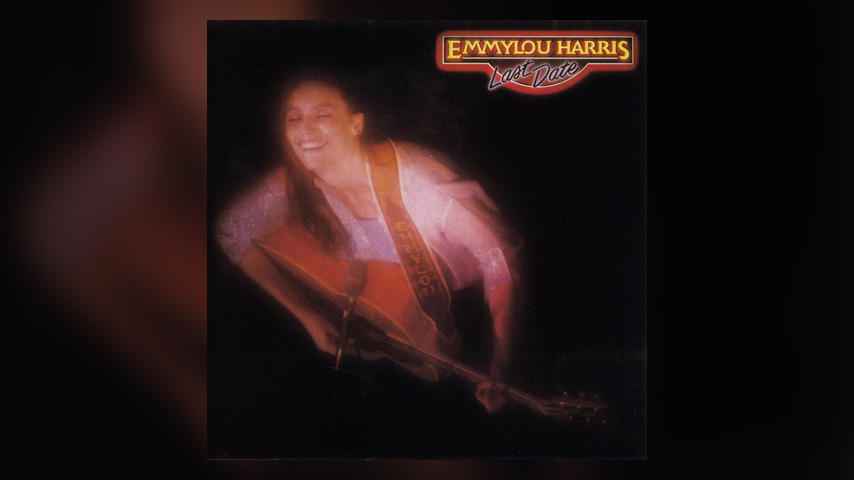 Emmylou Harris LAST DATE Album Cover