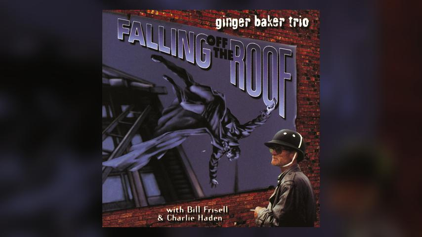 Ginger Baker FALLING OFF THE ROOF  Album Cover