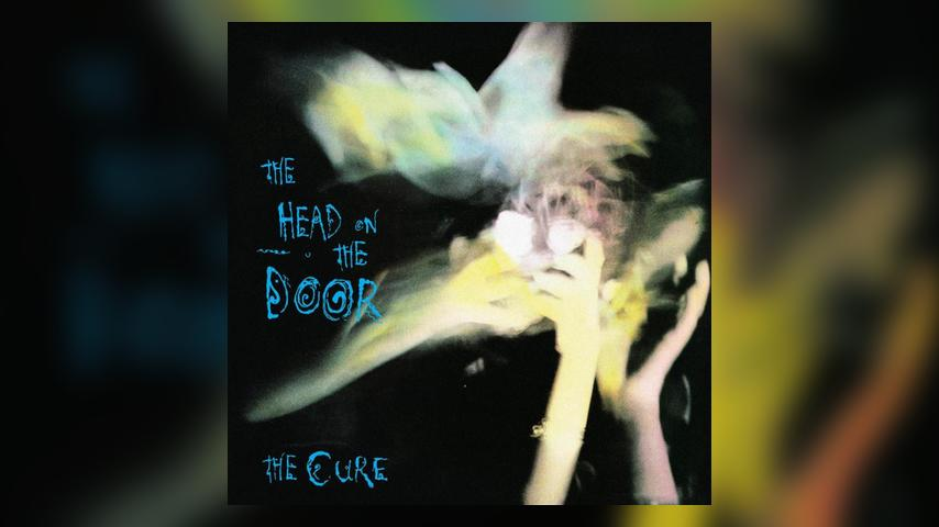 The Cure THE HEAD ON THE DOOR Album Cover