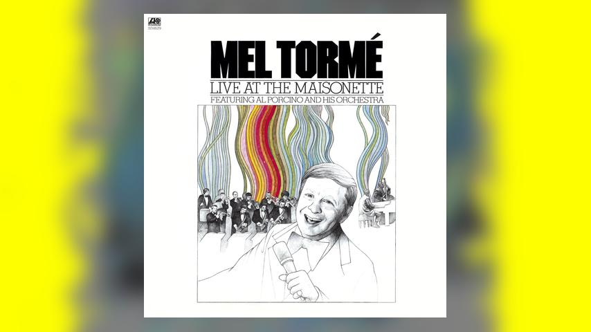 Mel Torme LIVE AT THE MAISONETTE Album Cover