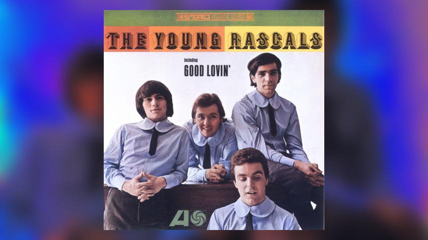 The Rascals THE YOUNG RASCALS  Album Cover