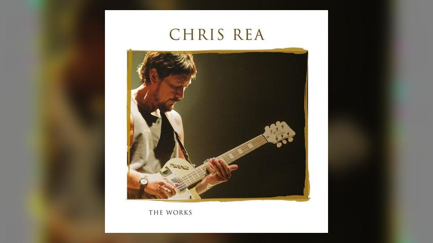 Chris Rea THE WORKS Cover