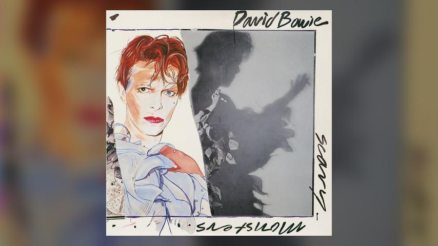 David Bowie SCARY MONSTERS AND SUPER CREEPS Cover