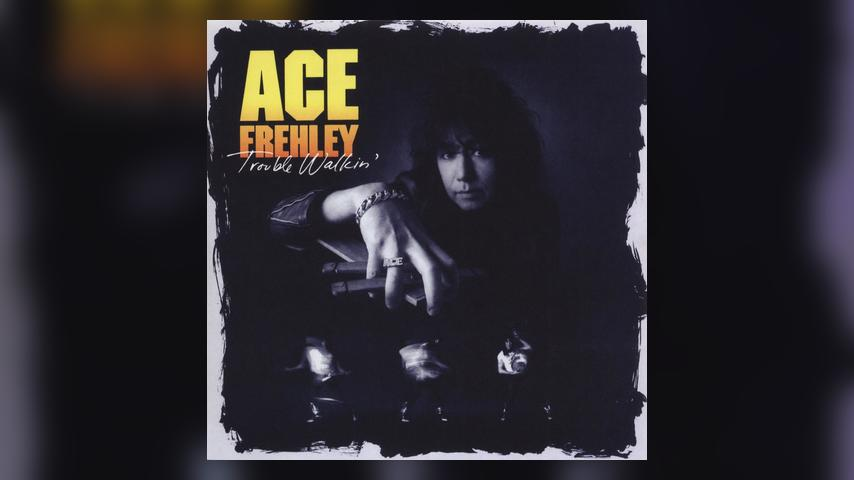 Ace Frehley TROUBLE WALKIN' Cover