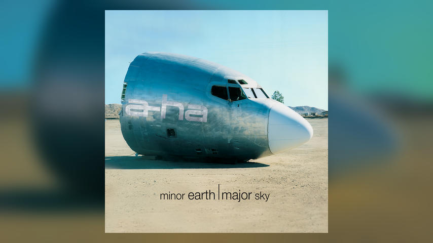 a-ha MINOR EARTH MAJOR SKY Cover