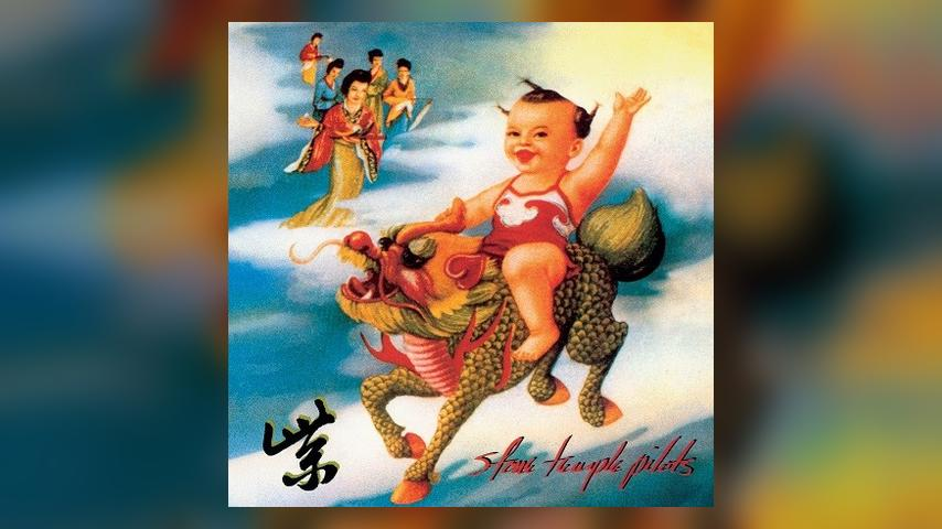 Stone Temple Pilots PURPLE Super Deluxe Album Cover