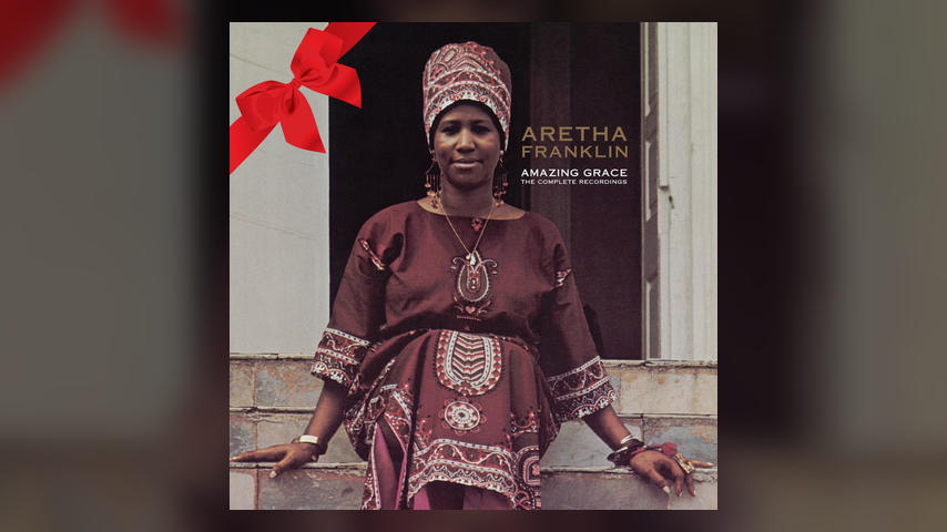 Aretha Franklin AMAZING GRACE Cover with Bow