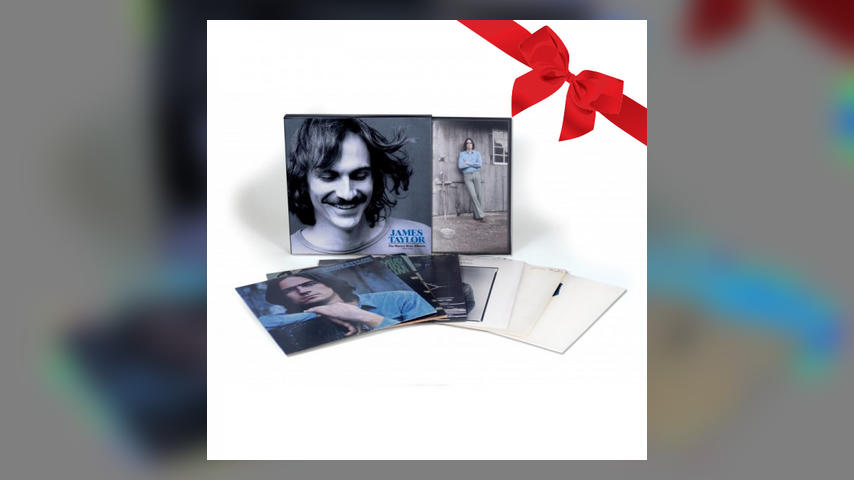James Taylor THE WARNER BROS ALBUMS Pack Shot with Cover