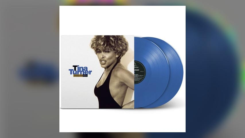 Tina Turner SIMPLY THE BEST BLUE VINYL Packshot