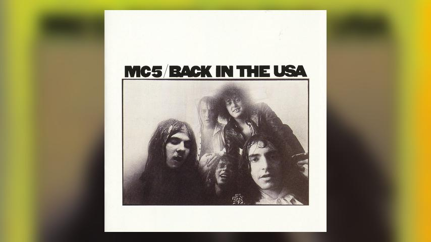 MC5 BACK IN THE USA Cover