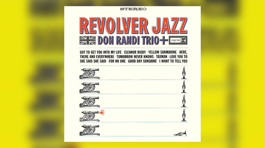 Don Randi Trio REVOLVER JAZZ Cover