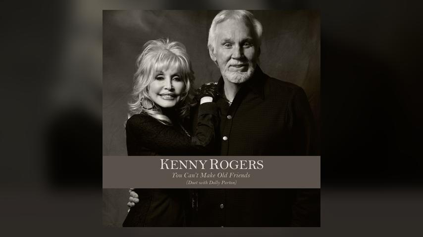 Kenny Rogers YOU CAN'T MAKE OLD FRIENDS with Dolly Parton Cover