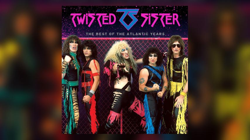 Twisted Sister THE BEST OF THE ATLANTIC YEARS Cover
