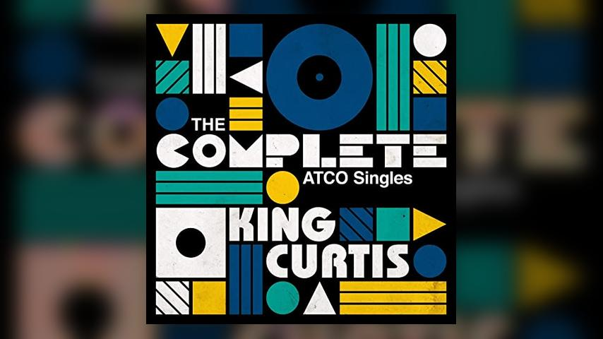 King Curtis COMPLETE ATCO SINGLES Cover