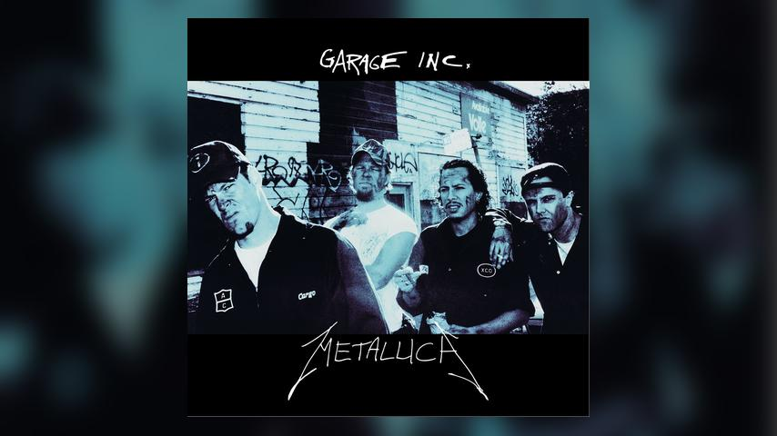 Metallica GARAGE INC. Cover