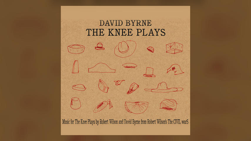 David Byrne THE KNEE PLAYS Cover