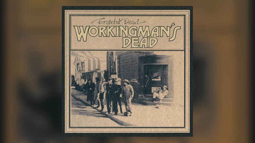 Grateful Dead WORKINGMAN'S DEAD 50TH Cover