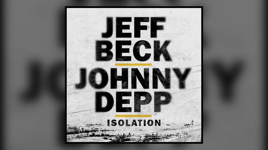Jeff Beck and Johnny Depp ISOLATION Cover