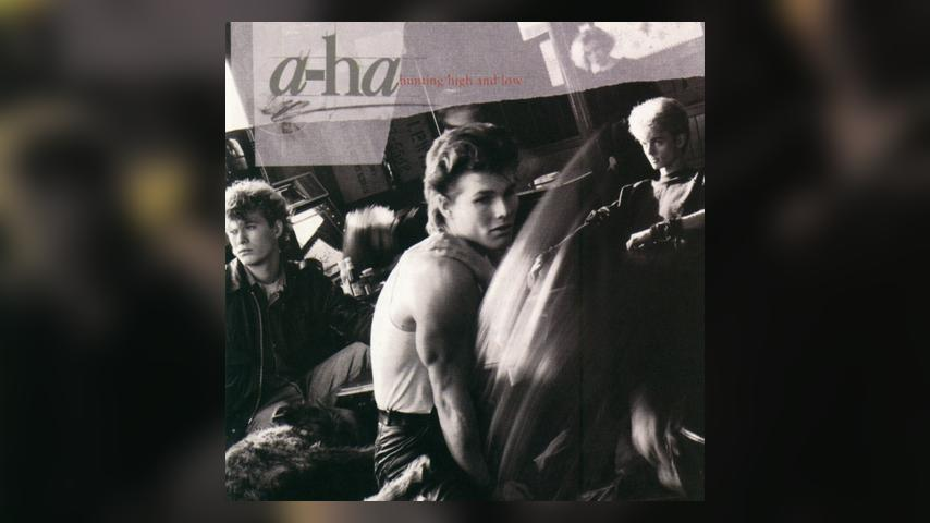 a-ha HUNTING HIGH AND LOW Cover