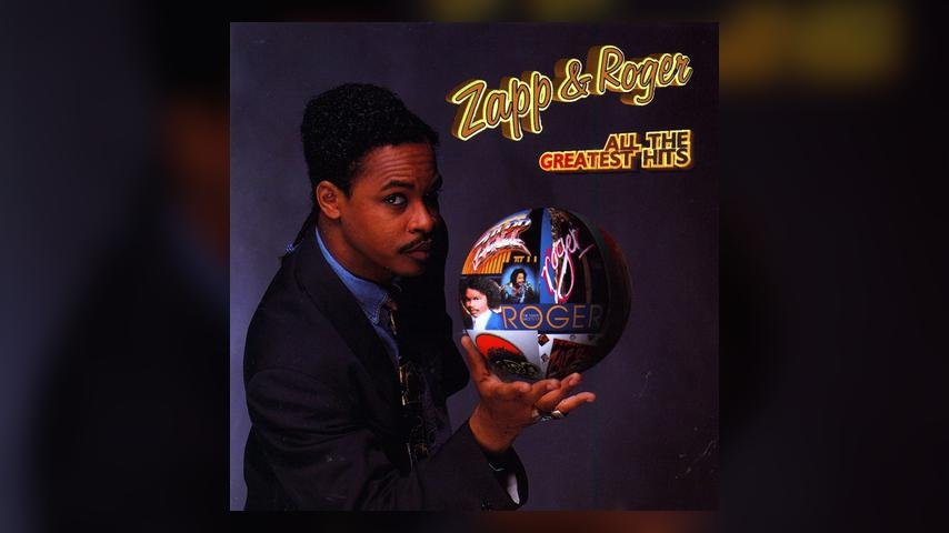 Zapp & Roger ALL THE GREATEST HITS Cover