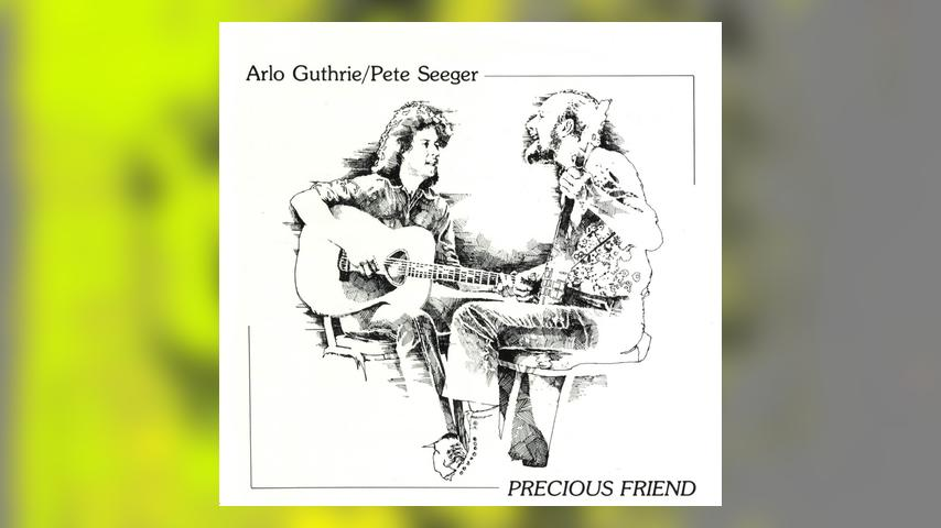 Arlo Guthrie/Pete Seeger PRECIOUS FRIEND Cover