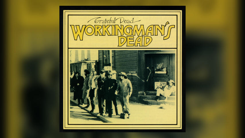 Grateful Dead WORKINGMAN'S DEAD Cover