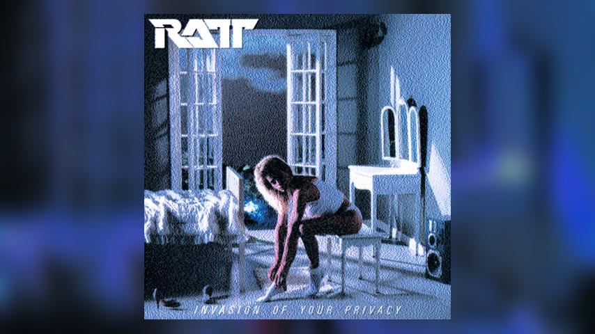 Ratt INVASION OF YOUR PRIVACY Cover