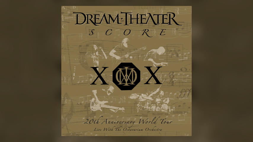 Dream Theater SCORE Cover