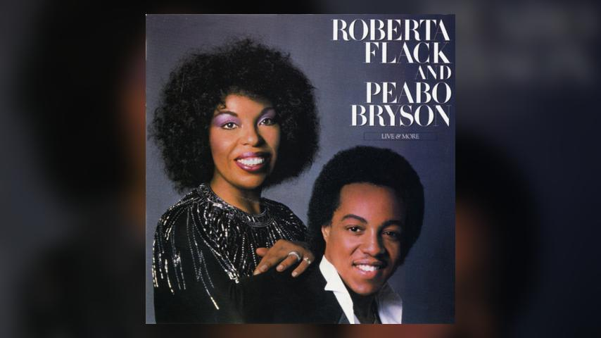 Roberta Flack and Peabo Bryson LIVE &B MORE Cover