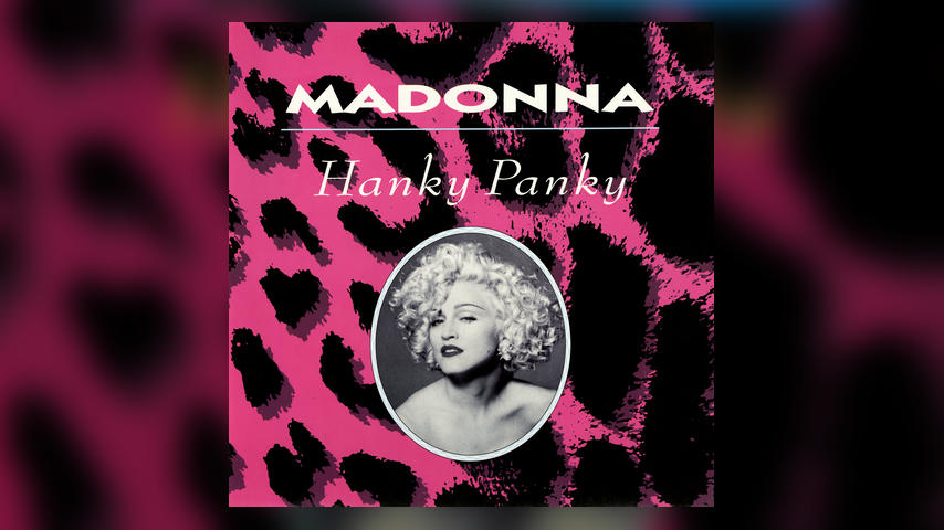 Madonna HANKY PANKY Digital Single Cover