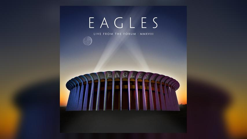 Eagles LIVE FROM THE FORUM Cover