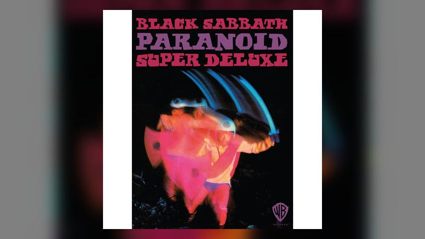 Black Sabbath, PARANOID: SUPER DELUXE EDITION Cover