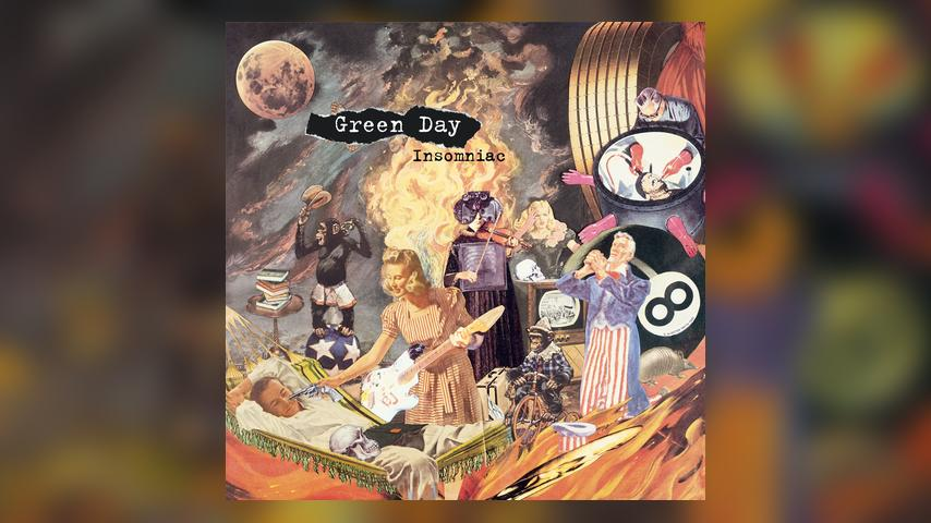 Green Day INSOMNIAC Cover