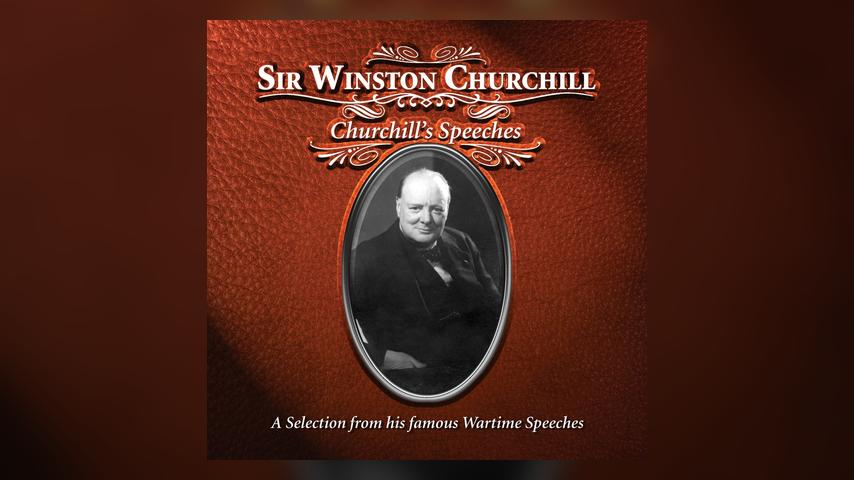 Sir Winston Churchill CHURCHILL'S SPEECHES Cover