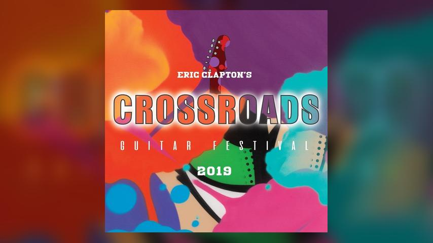 Eric Clapton CROSSROADS 2019 Cover