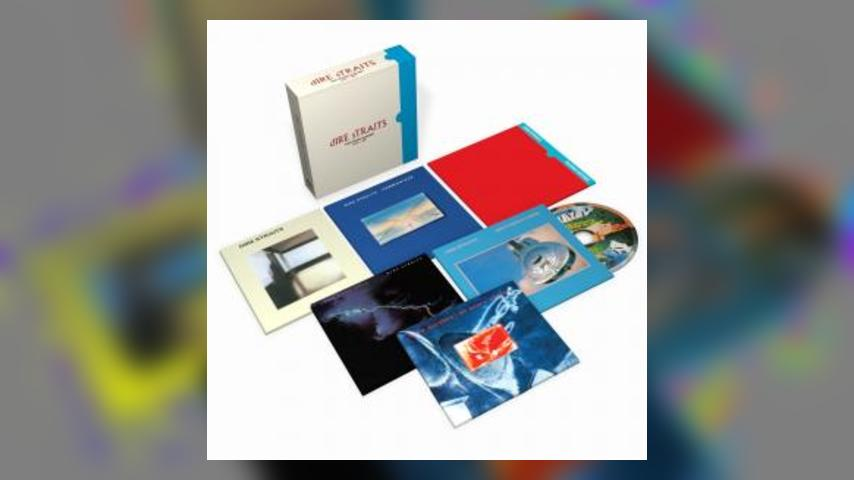 Dire Straits Package Shot for COMPLETE STUDIO ALBUMS