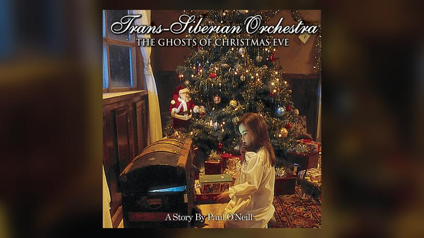 Trans Siberian Orchestra THE GHOSTS OF CHRISTMAS EVE Cover