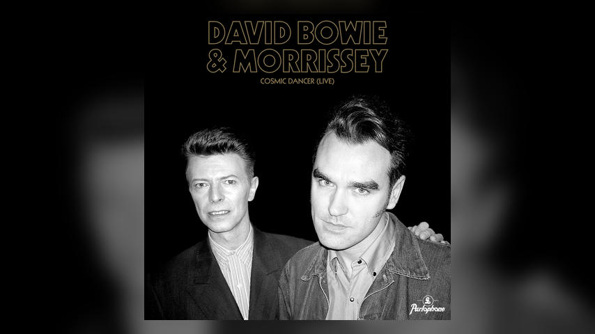 David Bowie & Morrissey COSMIC DANCER (LIVE) Cover