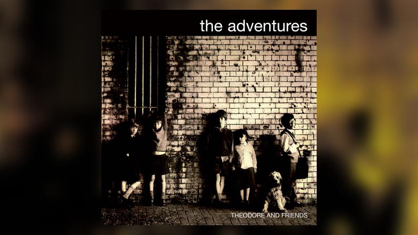 The Adventures THEODORE AND FRIENDS Cover