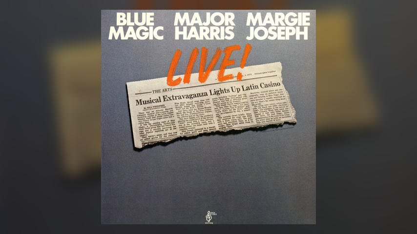 Blue Magic Major Harris Margie Joseph LIVE Cover